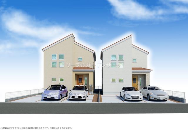 播磨町二子の新築一戸建て♪完成予想図♪