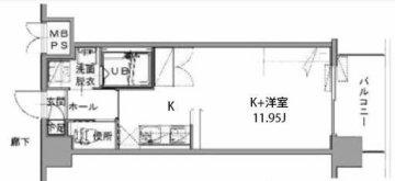 九州大学 伊都キャンパス マンション カーサフィオーレ Bタイプ
