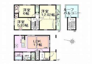 元郷4 新築戸建 3号棟