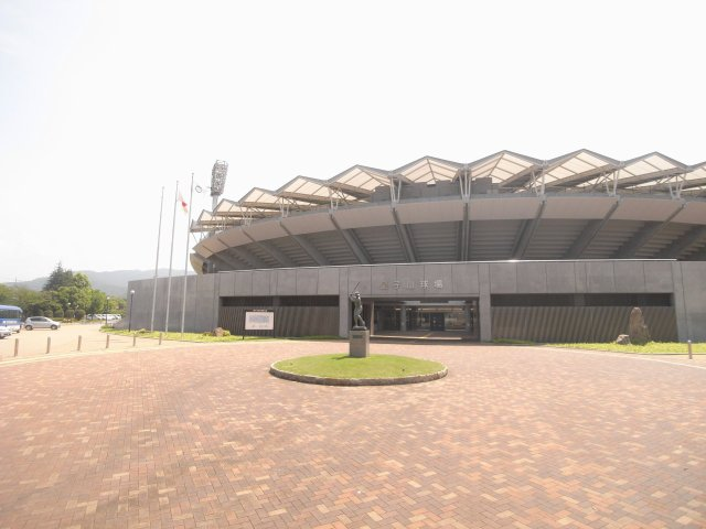 皇子山球場  大津京駅すぐにあり甲子園と同じ土が使われていてなかなか優れた野球場なんですよ