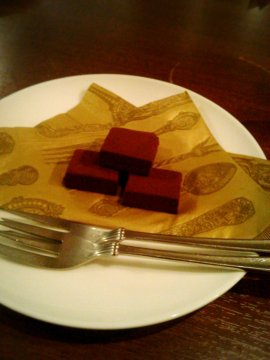 ロイズの生チョコ