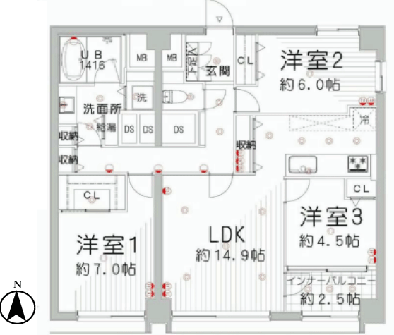幡ヶ谷ゴールデンマンション 新宿区 マンション リノベーション