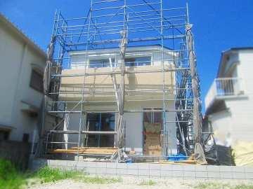 霞ヶ丘 新築一戸建て外観