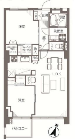 ガーデン堀ノ内住宅 新宿区 中古マンション  リノベーション