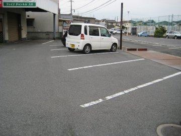 共用部 駐車場5台