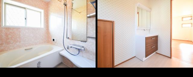バスルーム、洗面室