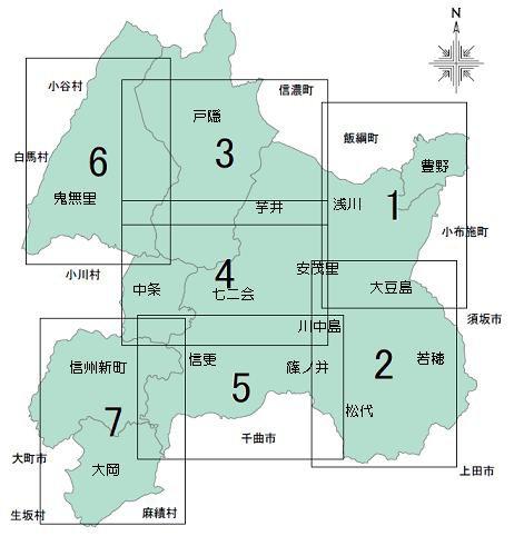 長野市地震防災マップ