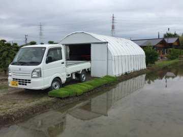 愛車軽トラック