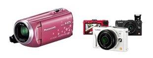 ビデオカメラ&デジカメ