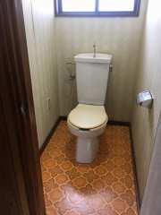トイレ:水洗