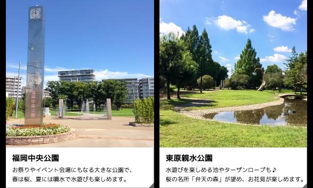 福岡中央公園・東原親水公園