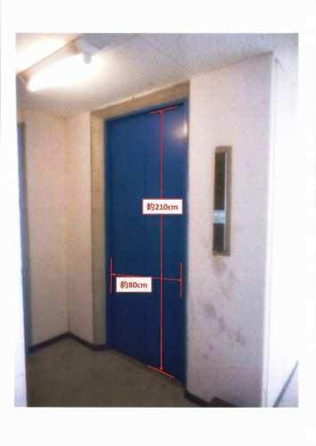 EV(共用玄関と同じセコムのカードキーを使って1階で操作します)