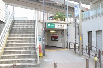 新板橋駅出口