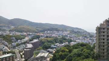 ジェームス山ヒルズ弐番館 眺望