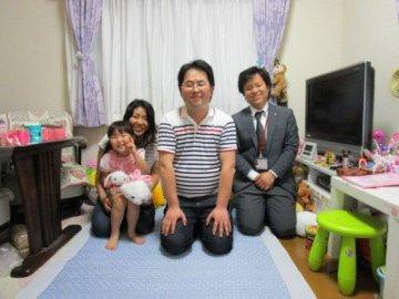 中嶋さまご家族