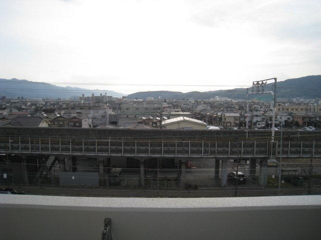 5階からの眺望です