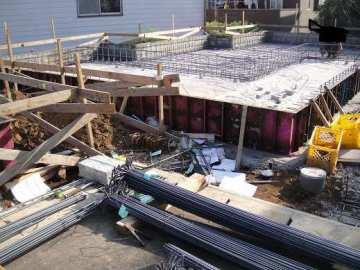 地盤調査、配筋検査、基礎コンクリート土台