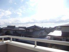 2階ベランダから眺望撮影