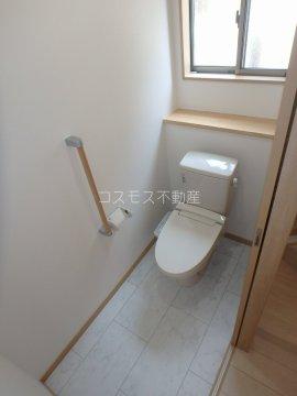 1・2階にトイレ