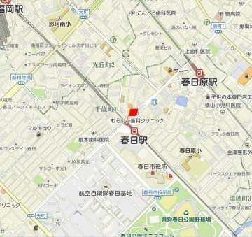 JR春日駅地図