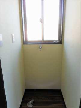 2F洗濯機置場