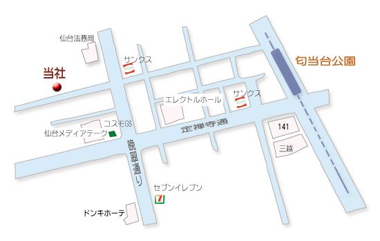 ネクストハウジング会社マップ