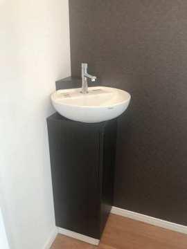 2階トイレの可愛い手洗いボウル