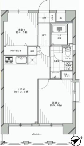 ヴァン・ヴェール新宿 新宿区 マンション リノベーション