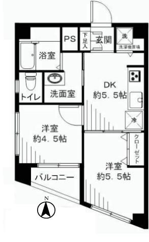 豊島園ファミリーマンション 新宿区 中古マンション  リノベーション