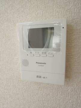 セキュリティー モニター付インターホン