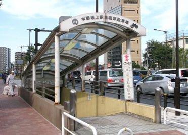 中野坂上 地下駐輪場