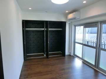 新宿区 中古マンション リノベーション 内装 ホームステージング 家具設置 小物設置