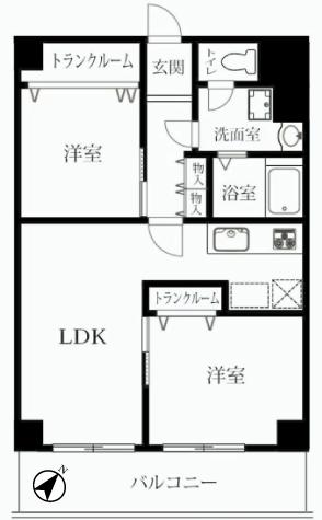 蓮根サンハイツ 新宿区 マンション リノベーション