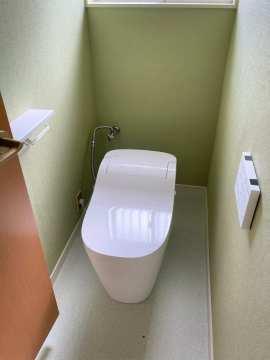 タンクレストイレ交換済です