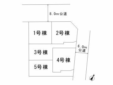 川口市戸塚東4 区画図