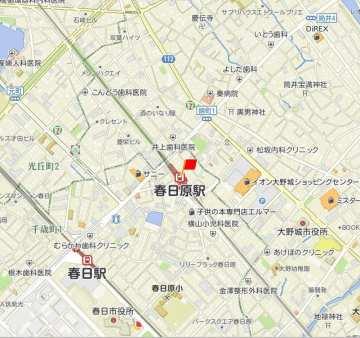 西鉄春日原駅地図