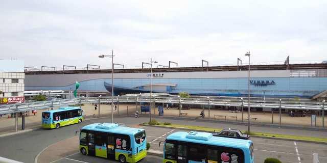 かこバス(加古川市コミュニティバス)♪JR加古川駅にて♪