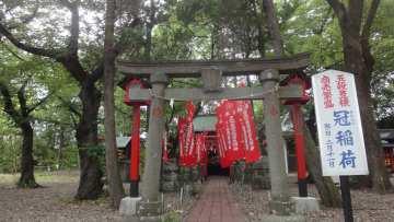 現在の三光寺稲荷(冠稲荷)倉賀野神社内
