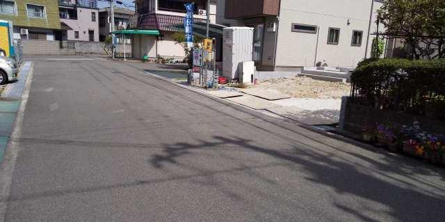 播磨町宮北の新築一戸建て♪前面道路はゆったり約6.4m♪