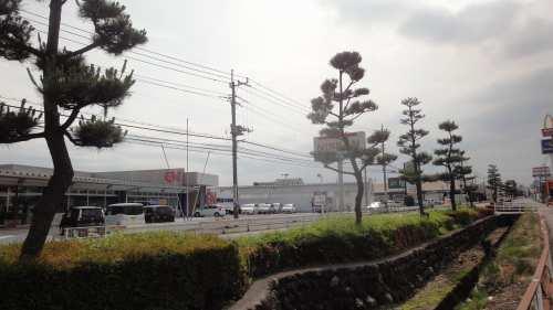 現在の並木 安楽寺から旧中山道を高崎方面へ