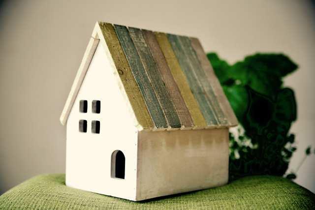 中古住宅の模型