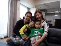 久保田さまご家族