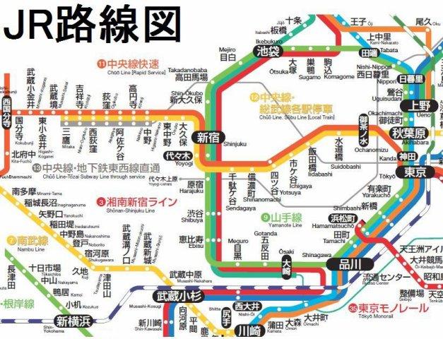 chiri.com PDF鉄道路線図