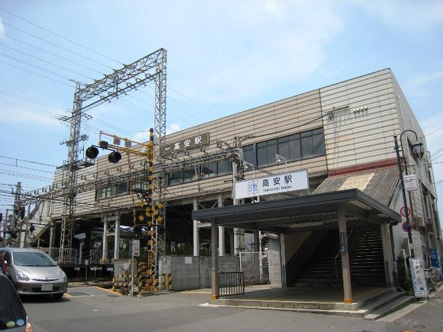 近鉄大阪線「高安」駅