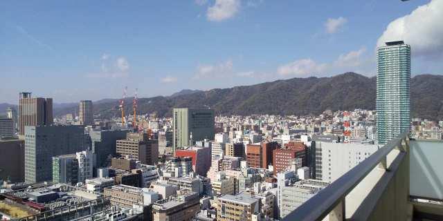 エルグレース神戸三宮タワーステージ♪お部屋からの眺望♪