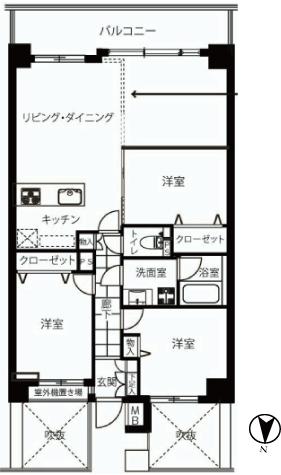 藤和菊川ホームズ 新宿区 中古マンション  リノベーション