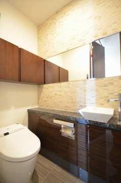 グランドメゾン白金の杜ザタワー トイレ