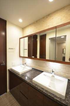 グランドメゾン白金の杜ザタワー 洗面所