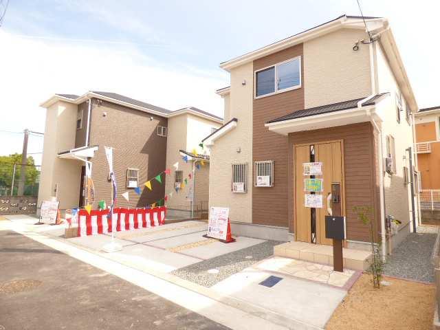 加古川市野口町長砂の新築一戸建ての外観のご紹介♪
