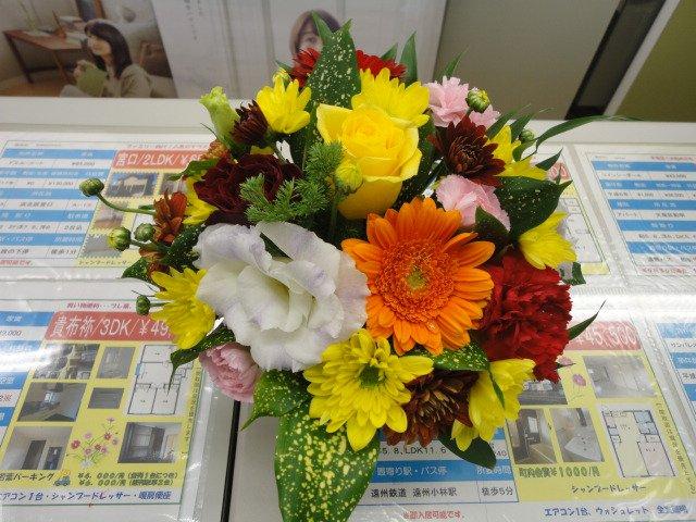 路子さんの花